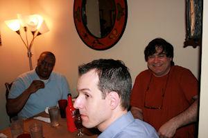 George, Terry, Ian